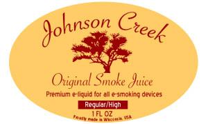 E-liquide Johnson Creek chez E-Cigs.co.uk Jc_log11