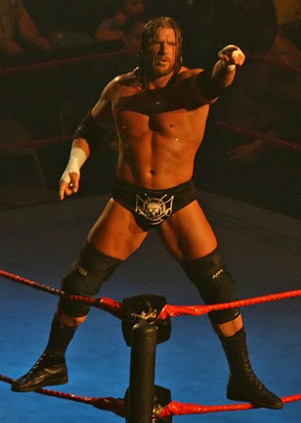 the gread khali vs Triple H for the european title Post1410