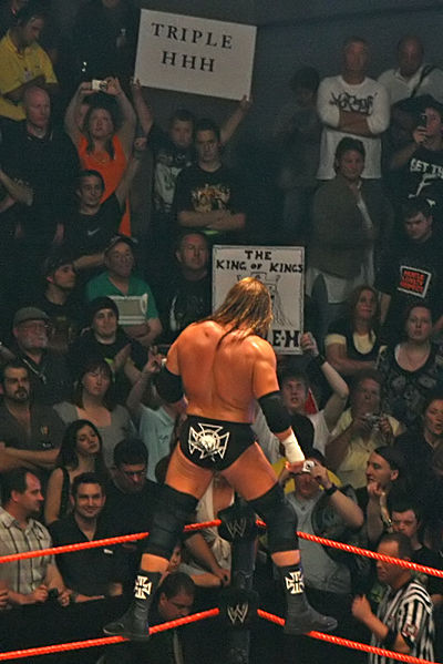 the gread khali vs Triple H for the european title Post2010
