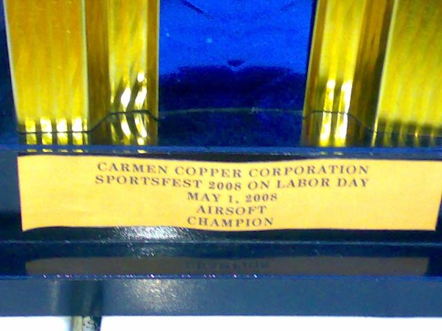 Carmen Copper Exhibition Game 01052013