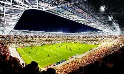 Le nouveaux stade de Valencienne 20080110