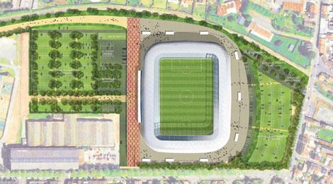 Le nouveaux stade de Valencienne Nunges10