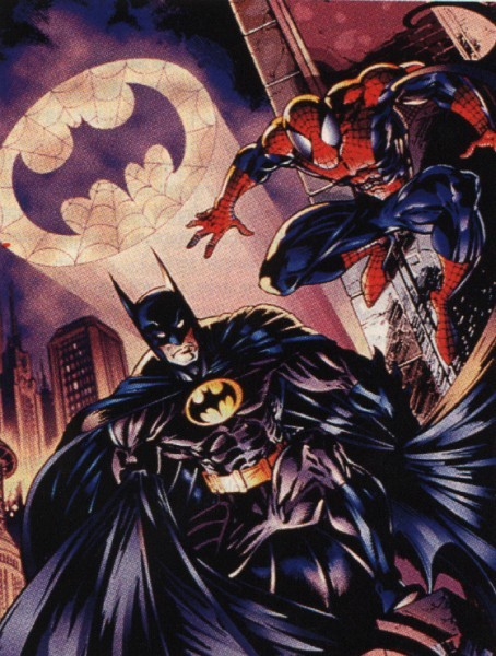 Batman y Spiderman en 22 villanos Batman11