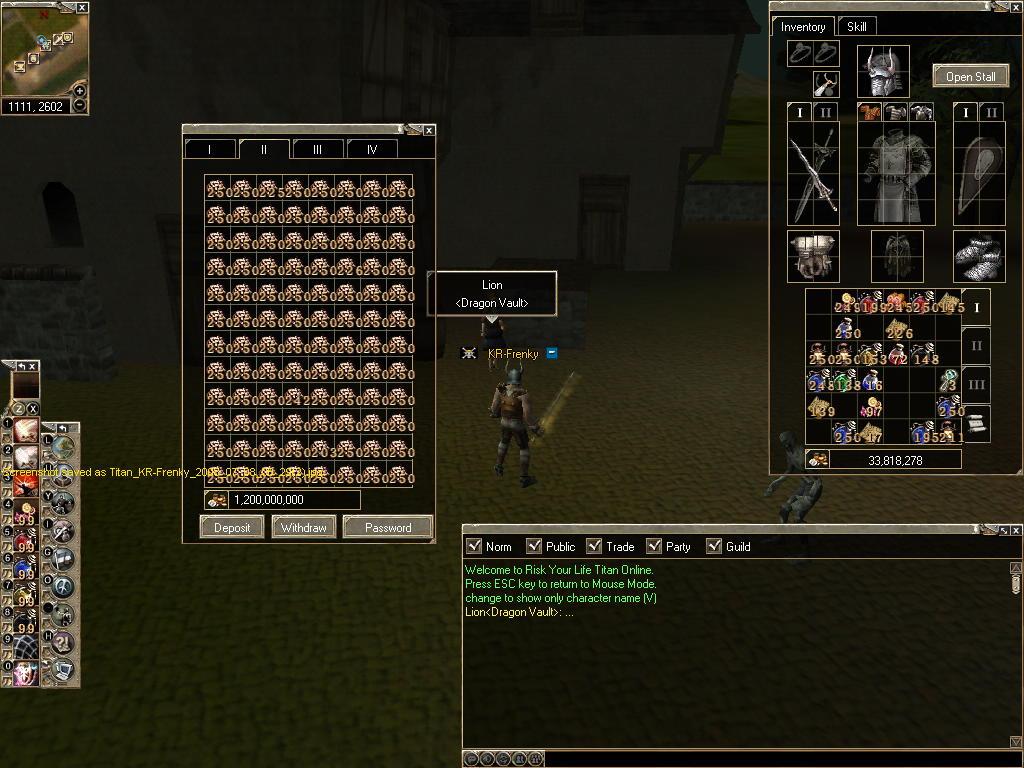 Grantz to player use Bugs Titan_24