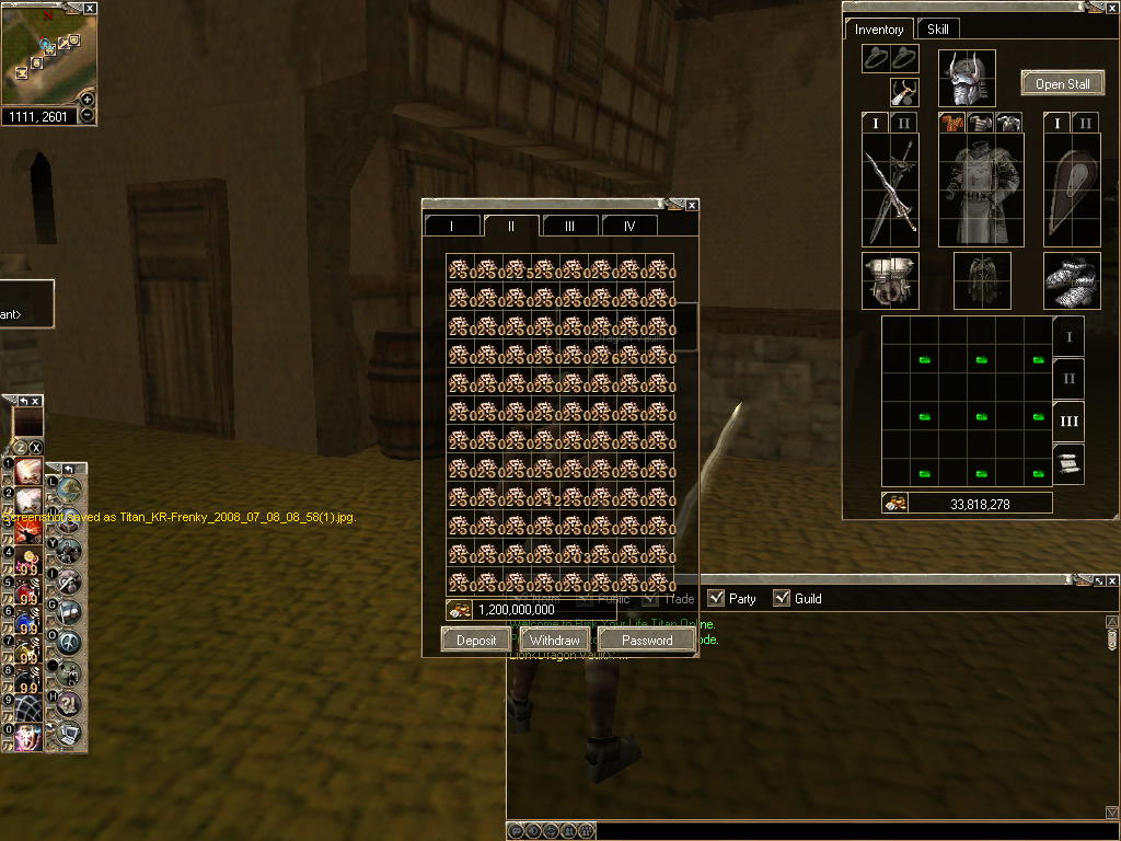 Grantz to player use Bugs Titan_25