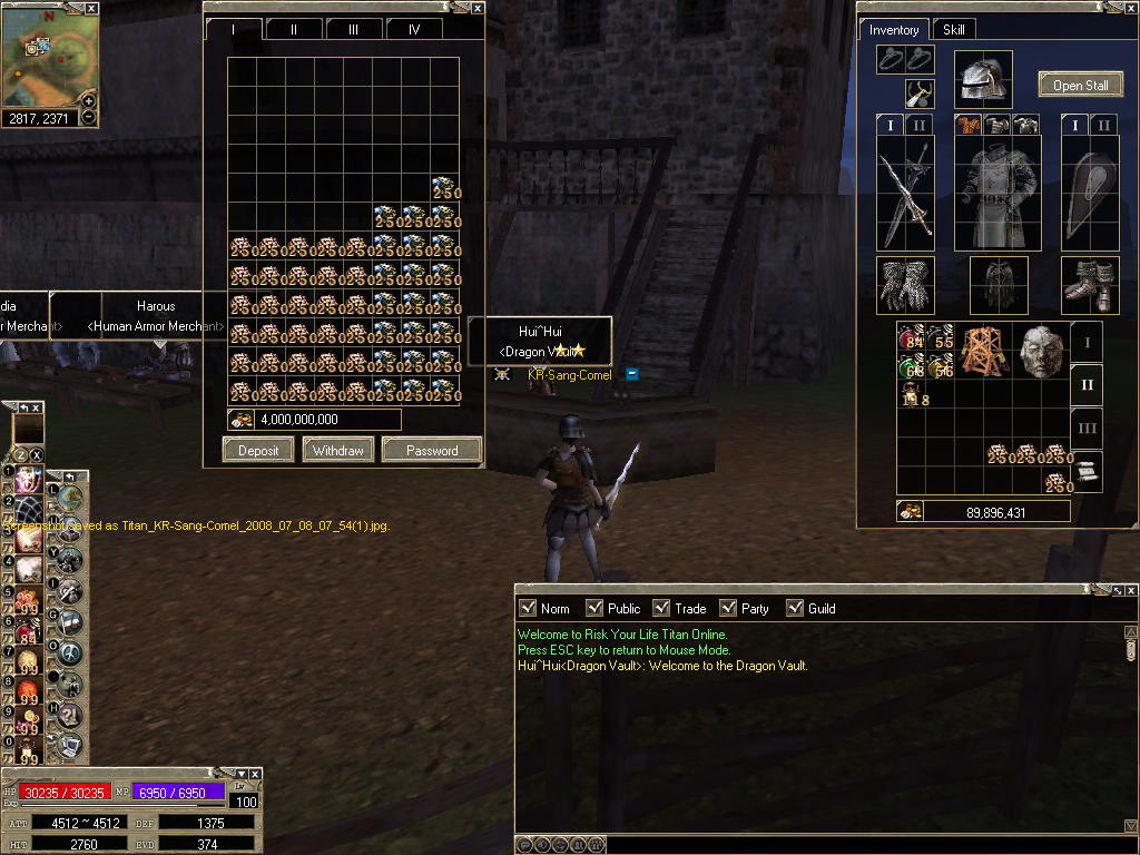 Grantz to player use Bugs Titan_33