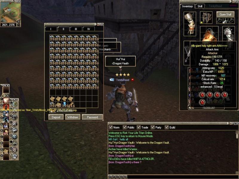 Grantz to player use Bugs Titan_50