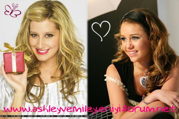 Ashley ve Miley Fan Club