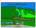 Tournoi de disc golf à Lennoxville, dimanche 10 aout Parcou11
