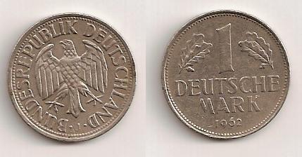 marco de la República Federal Alemana, 1962 210
