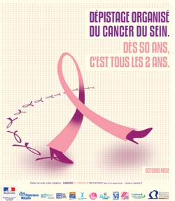 Dépistage du cancer du sein : Octobre s'habille en Rose Octobr10
