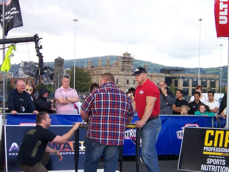 Ultimate Strongman 2011 Belfast. Neil Pickup,Glenn Ross,Magnus Samuelsson and my table. 29848110