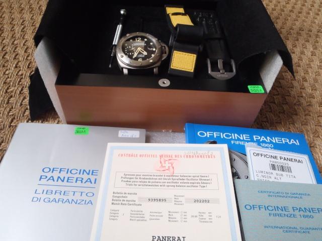 [Vendue] Panerai Submersible 25 C - 4300 euros Pb010613