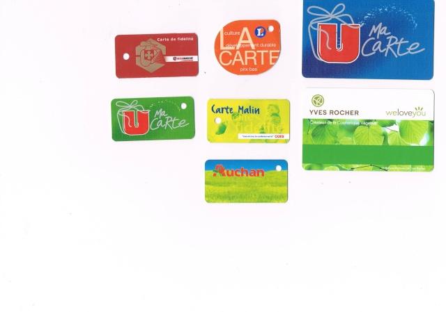 Divers cartes de fidélité Ccf20024