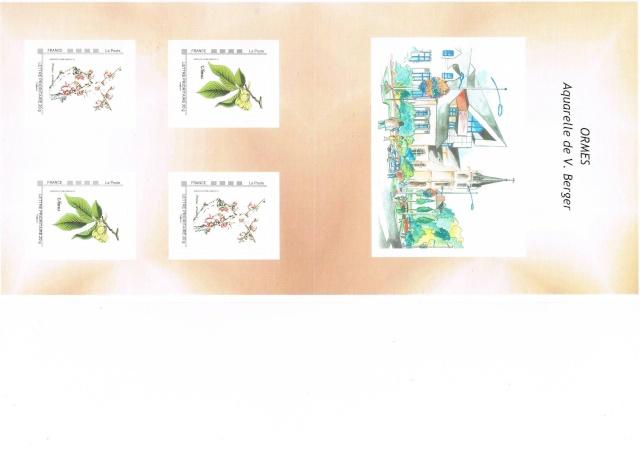 45 - Ormes - Aquarelle de V. Berger Ccf21013
