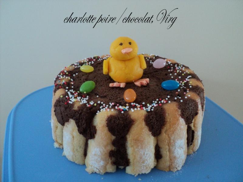 Charlotte chocolat poires - Page 2 Dsc08914
