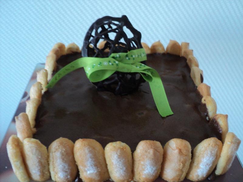 Charlotte chocolat poires - Page 2 Dsc09010