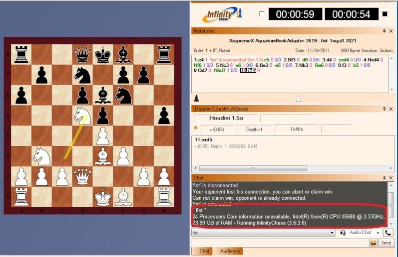 Infinity Chess GUI (IC) 24a10