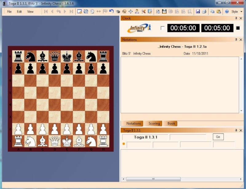 Infinity Chess GUI (Free Online Server) - Time to Enjoy Chess Like Playchess.com Free I210