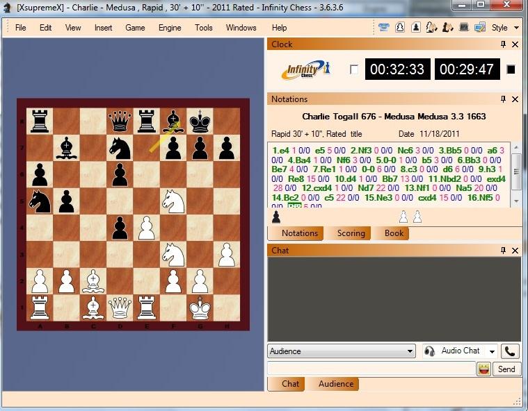 Infinity Chess GUI (Free Online Server) - Time to Enjoy Chess Like Playchess.com Free I410