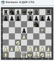 Veresov 4.Qd4 ctg Vereso10