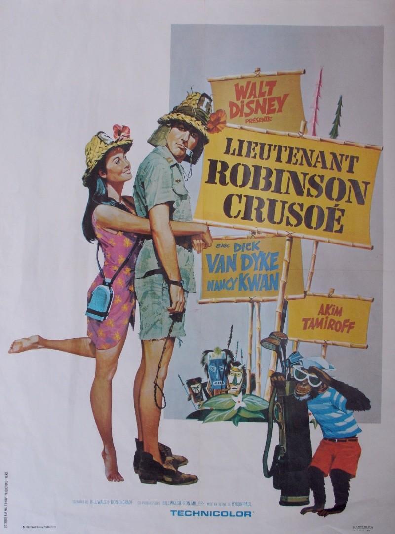[Walt Disney Pictures] Lieutenant Robinson Crusoé (1966) 1967_010