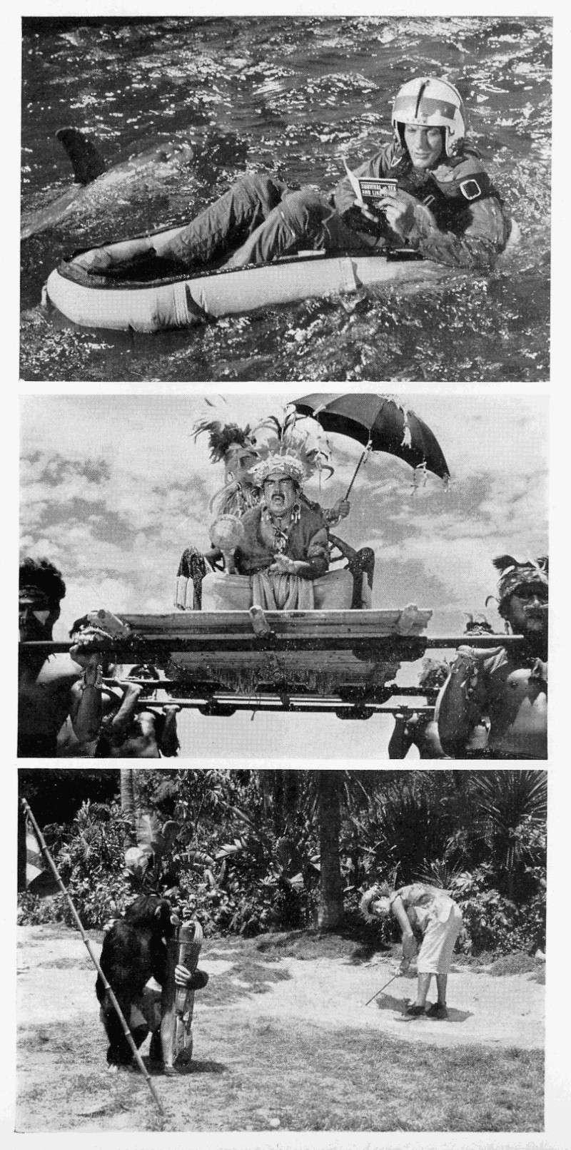 [Walt Disney Pictures] Lieutenant Robinson Crusoé (1966) 1967_014