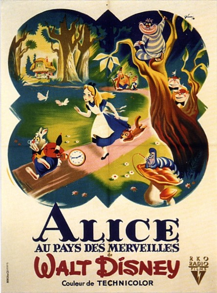 Alice au Pays des Merveilles [Walt Disney - 1951] - Page 5 V_aff_11