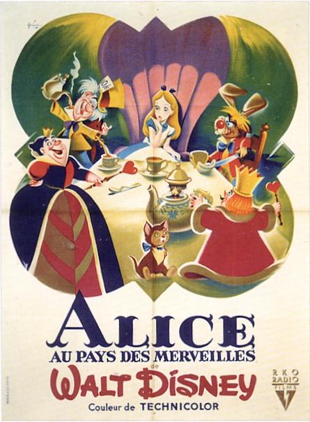 Alice au Pays des Merveilles [Walt Disney - 1951] - Page 5 V_aff_12