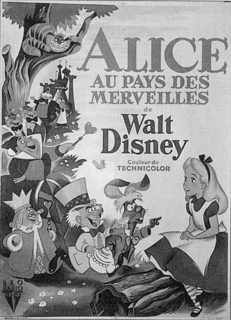 Alice au Pays des Merveilles [Walt Disney - 1951] - Page 5 V_aff_13