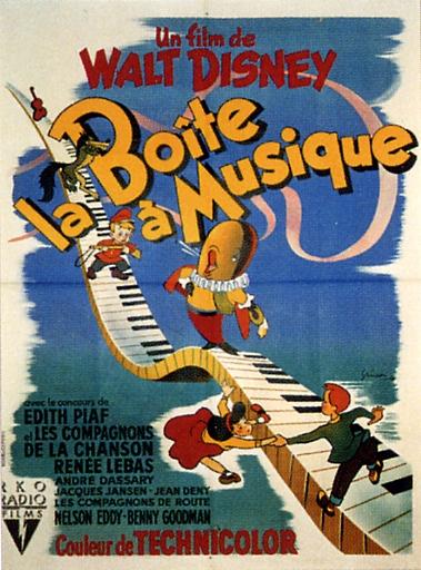 La Boîte à Musique [Walt Disney - 1946] V_aff_15