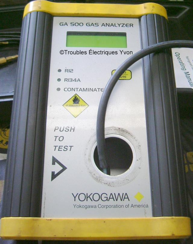Réparation d'identificateur de fréon Yokogawa GA500 Identi11