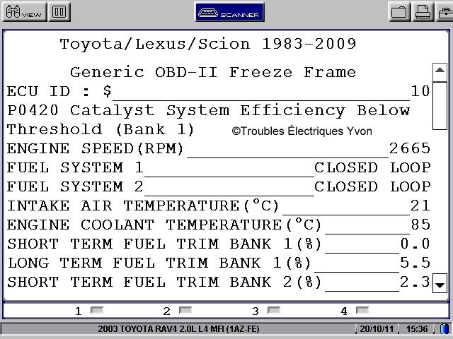 P0430 Lexus