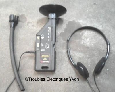 Le détecteur ultrason Ultras10