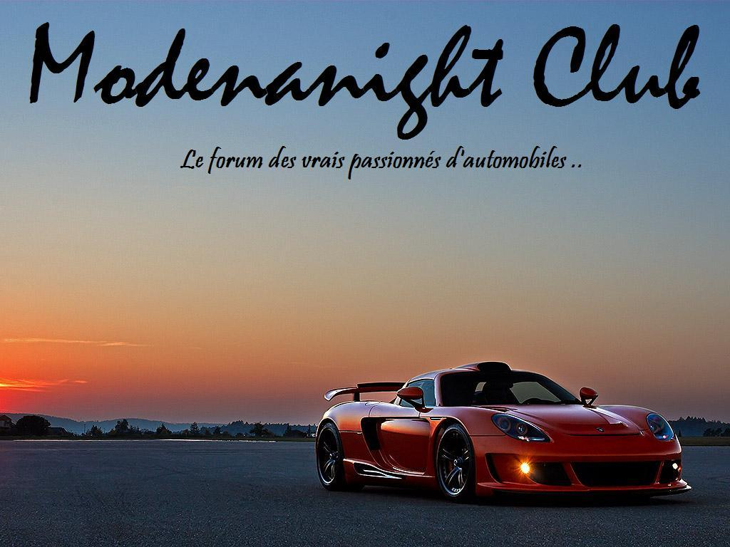 BIENVENUE AU  MODENANIGHT-CLUB