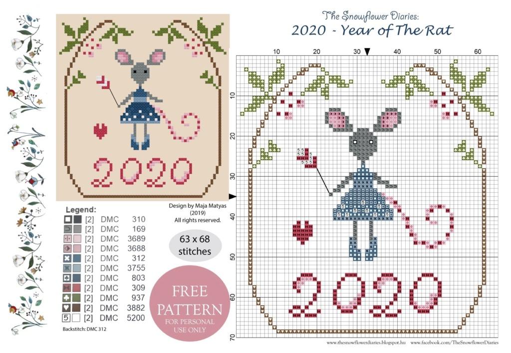 Free Pattern 2020...chez Snowflower Diaries  Img_5313
