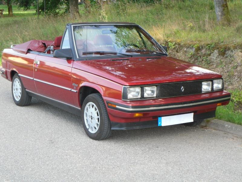 La Renault Alliance 1.7 DL Convertible de 85 de Laïo Sam_0515