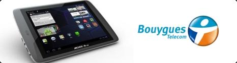 Archos 80 9g pour 49,90 € chez Bouygues Telecom 13199610
