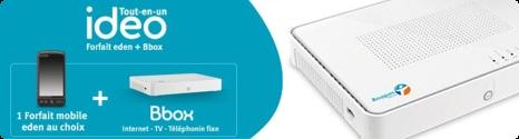 Idéo ADSL : Appels illimités BBox vers mobiles offerts pendant 24 mois 13273210