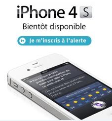 [MAJ] L'iphone 4S sur le site de Bouygues Telecom Alerti10