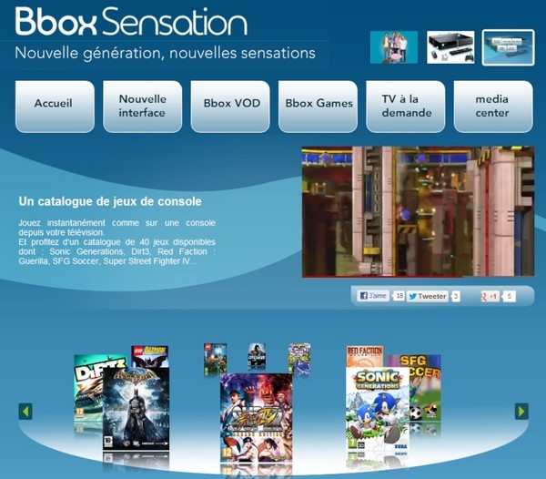 Faites vos jeux: Le Cloud Gaming démarre sur Bbox Sensation ADSL Bboxga11