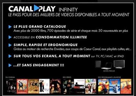 netflix - CanalPlay Infinity, «Netflix à la française» bientôt sur Bbox Canalp10