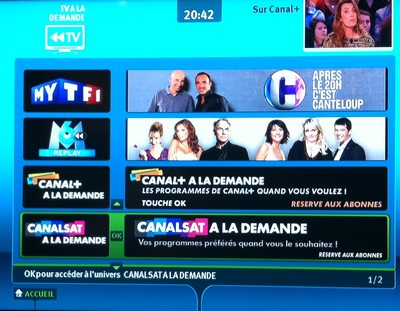 canalsat la demande rejoint le portail tv la demande. Black Bedroom Furniture Sets. Home Design Ideas