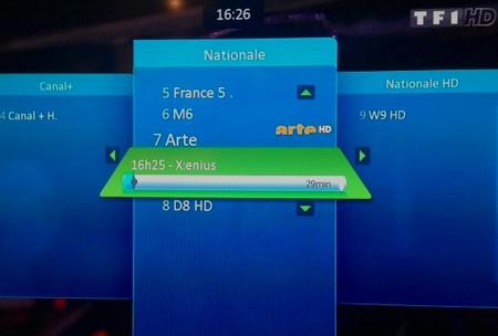 Nouvelle numérotation des chaines HD sur Bbox TV Chaine10