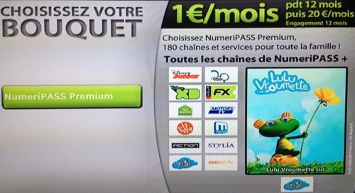 Bbox Fibre: Numeripass Premium à 1€/mois pendant 1 an Nmcabl10
