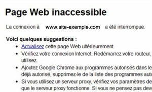 Sites inaccessibles pour certains utilisateurs Bbox - Page 3 Pagein11