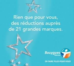 Bouygues Telecom offre des bons de réductions pour Noel Reducb10
