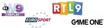Replay:  Eurosport, Game One, W9 et RTL9 complètent l'offre Repltv10