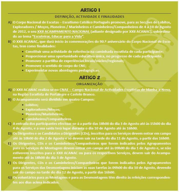 XXII Acanac / Idanha-a-Nova / 4 a 10 de Agosto de 2012 117