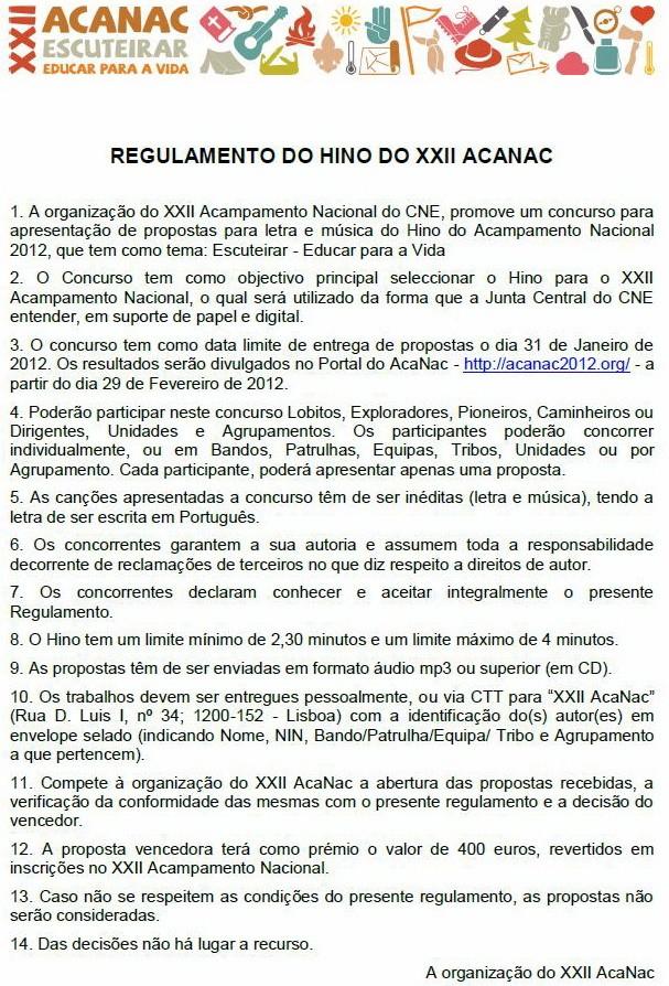XXII Acanac / Idanha-a-Nova / 4 a 10 de Agosto de 2012 120